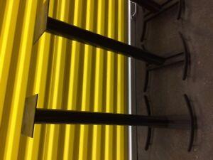 Hi Fi Speaker Stands High End Solid Steel Black