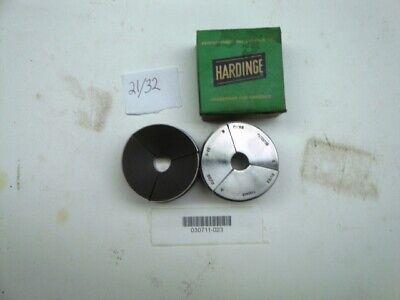 Hardinge S22 2132 Round Smooth Collet Pad Set New