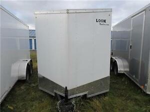 Remorque Fermée DLX 6X12 Tandem /  Enclosed Trailer