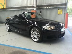 2009 BMW 135I E88 Sport Black 6 Speed Manual Convertible Maryville Newcastle Area Preview