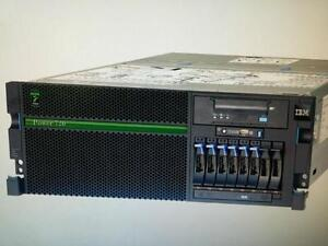 Server 8202 Model E4B Power7 1x  dual  3.0GHz 1/4 Processors