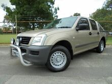 2005 Holden Rodeo  Gold Manual Dual Cab Welshpool Canning Area Preview