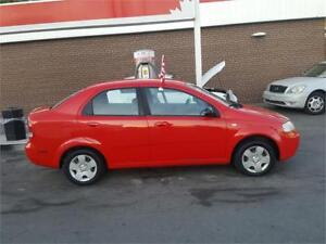 2005 PONTIAC WAVE BRIGHT RED WITH NQVIGATION!