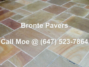 Bronte Flagstone Pavers Bronte Green Square Cut Paving Stone