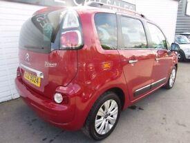 CITROEN C3 PICASSO 1.6 PICASSO EXCLUSIVE EGS 5d AUTO 120 BHP (red) 2013