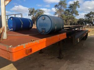 Trailer Drop Deck 40ft Bogie Lead 1TJY312 Malaga Swan Area Preview