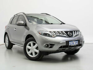2010 Nissan Murano Z51 TI Silver Continuous Variable Wagon Jandakot Cockburn Area Preview