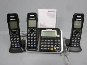 Téléphone Panasonic sans fil 3 combinés avec répondeur numérique