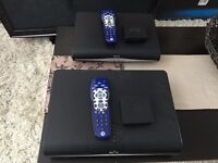 2 x Sky+ HD Box, 250GB Hard Drive. With 2 x Chelsea FC remote. Excellent condition.