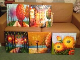 Oil Paintings - stretched canvas