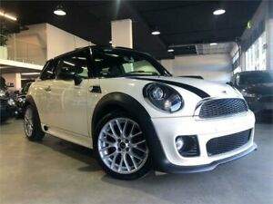 2013 Mini Hatch R56 LCI Cooper White Sports Automatic Hatchback Caringbah Sutherland Area Preview