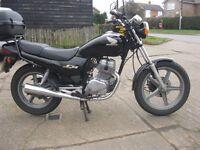 2003 HONDA CB250 MOTORCYCLE IN ORIGINAL BLACK-MOT TIL JUNE.1 LADY OWNER FROM NEW