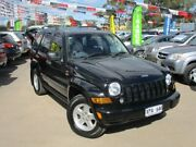 2007 Jeep Cherokee KJ MY2006 Limited Black 4 Speed Automatic Wagon Gepps Cross Port Adelaide Area Preview