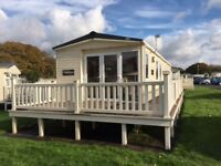 Holiday home at Hoburne Bashley, New Forest, Hampshire. Static caravan, 2018 Fees INCLUDED