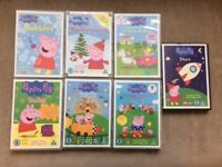 Bundle of 24 Children's DVDs - Peppa Pig, Charlie & Lola, Teletubbies, In The Night Garden