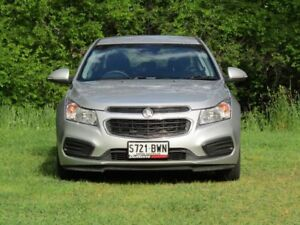 2015 Holden Cruze JH Series II MY15 Equipe Silver 6 Speed Sports Automatic Sedan Littlehampton Mount Barker Area Preview