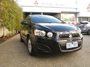 2012 Holden Barina TM MY13 CD Black 6 Speed Automatic Sedan West Footscray Maribyrnong Area Preview