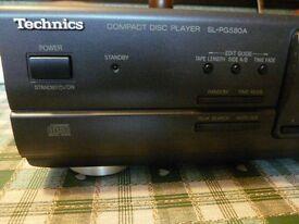 Cd player. Technics SL-PG580A