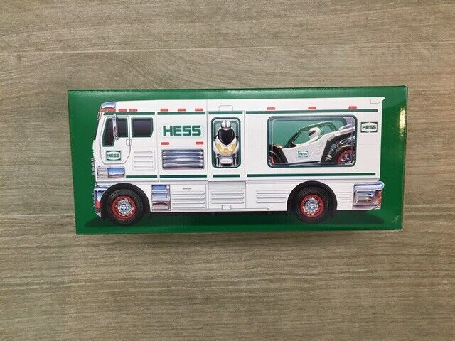 2018 Hess RV/ATV/Bike - 3 in 1 toy- brand new