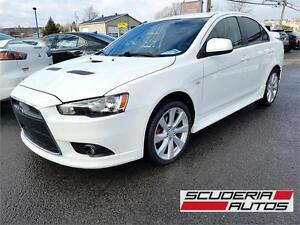Mitsubishi Lancer Ralliart 2012, Bas Km, AWD, Impeccable !
