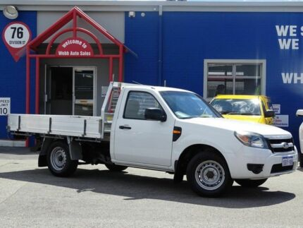 2009 Ford Ranger PK XL White 5 Speed Manual Cab Chassis Welshpool Canning Area Preview