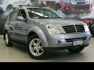 2011 Ssangyong Rexton Y285 II MY10 RX270 XVT SPR Grey 5 Speed Sports Automatic Wagon Rockingham Rockingham Area Preview