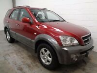 KIA SORENTO DIESEL 4X4 , 2006 , LOW MILES + FULL HISTORY , YEARS MOT , FINANCE AVAILABLE , WARRANTY