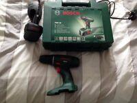 Bosch PSR 18V Cordless Drill