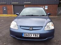 Honda Civic Imagine 2003 1.6 i-VTEC Blue 5dr