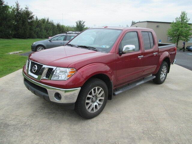 Imagen 1 de Nissan Frontier burgundy