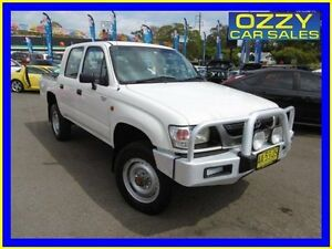 2003 Toyota Hilux LN167R (4x4) White 5 Speed Manual 4x4 Dual Cab Pick-up Penrith Penrith Area Preview