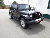 2014 Jeep Wrangler Unlimited Sahara only $259 bi-weekly!