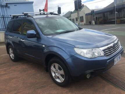 2009 Subaru Forester Blue 5 Speed Manual Wagon North Hobart Hobart City Preview
