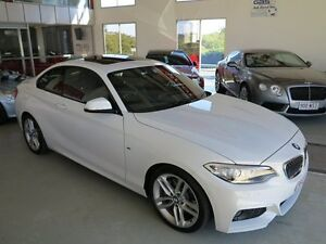 2015 BMW 228I F22 M Sport Alpine White 8 Speed Sports Automatic Coupe Albion Brisbane North East Preview