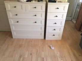 2 sets of Drawers