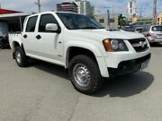 2009 Holden Colorado RC MY09 LX (4x4) White 5 Speed Manual Crew Cab Pickup Southport Gold Coast City Preview