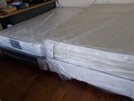 GENUINE AUSTRALIAN MADE MATTRESS AND BASE Bexley Rockdale Area Preview