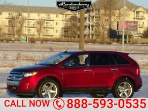 2014 Ford Edge AWD LIMITED Accident Free,  Navigation (GPS),  Le