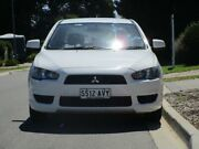 2012 Mitsubishi Lancer CJ MY12 ES White 6 Speed Constant Variable Sedan Reynella Morphett Vale Area Preview