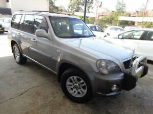 2004 Hyundai Terracan 05 Upgrade Silver 5 Speed Manual Wagon Sylvania Sutherland Area Preview