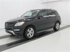 2013 Mercedes-Benz M Class ML350 AWD! ONLY 34,000 MILES!