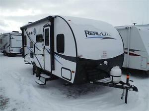 2017 Real Lite 17BS Ultra Lite Travel Trailer with Slideout