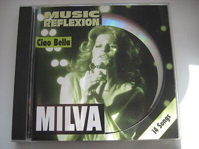 CD  MILVA   Ciao Bella   Music Reflexion