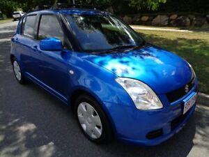 2005 Suzuki Swift EZ Blue Metallic 5 Speed Manual Hatchback Chermside Brisbane North East Preview