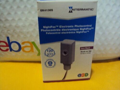 Intermatic EK4136S Electronic Photo Control Stem Mount Side Lens 120-277V 19821