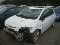 2007 TOYOTA AURIS 2.2 DIESEL PASSENGER SIDE REAR DOOR ( BREAKING )