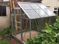 Aluminium Greenhouse – 195cm x 195cm