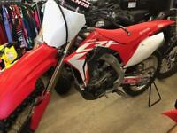 2018 CRF250R  NEW ENGINE & CLUTCH LESS THAN 20 HOURS 6999.00 Thunder Bay Ontario Preview