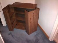 Entertainment Cabinet Media DVD storage center cabinet