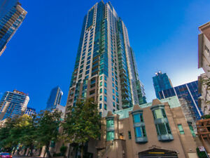 Coal Harbour View! Perfect 2 bdrm 2 bath Available from Nov 1